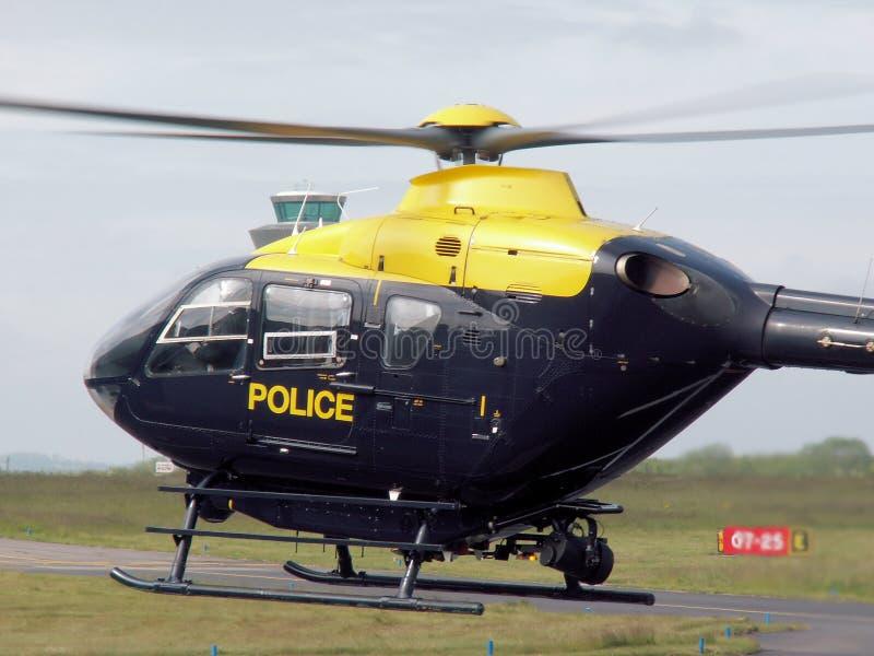 De Helikopter van de politie stock fotografie