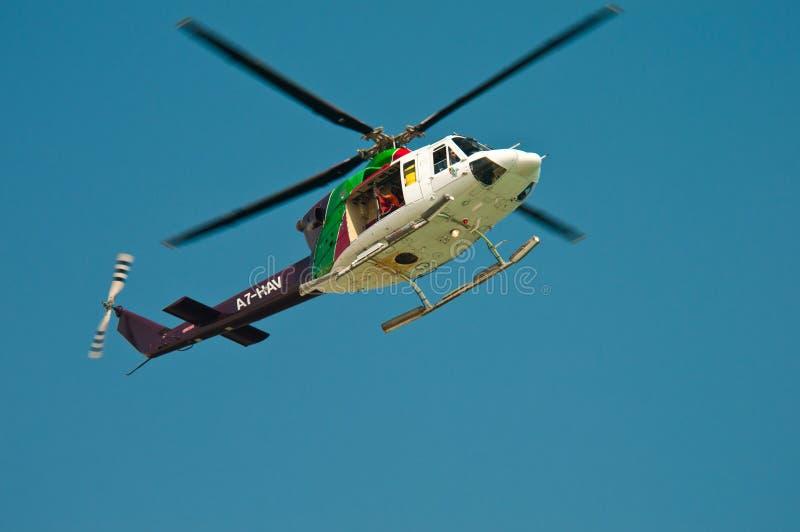 De helikopter van de veiligheid royalty-vrije stock fotografie