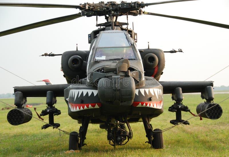 De Helikopter van het Leger van Apache royalty-vrije stock afbeeldingen