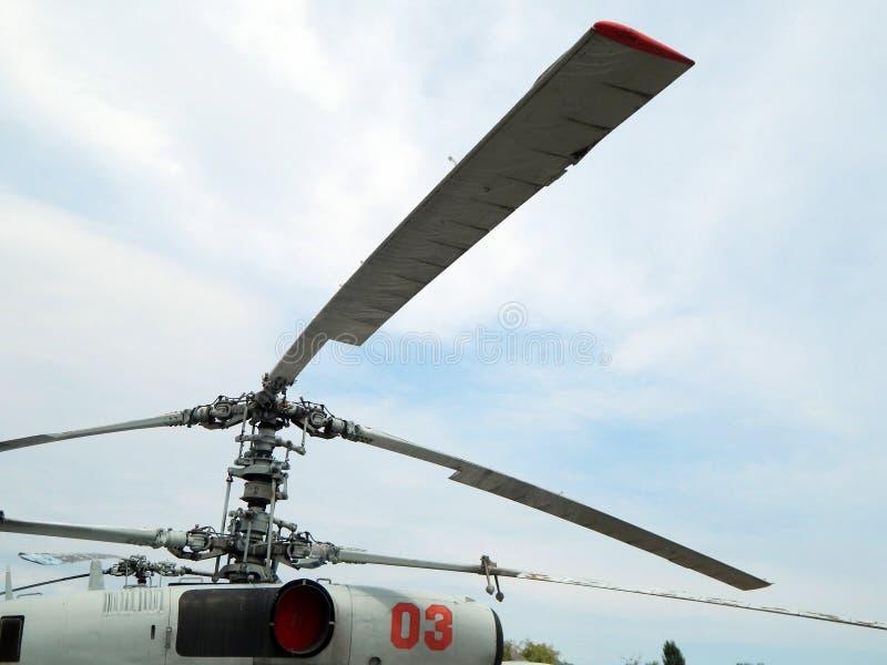 De helikopters zijn bij burgerlijk en militair royalty-vrije stock foto's