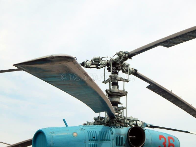De helikopters zijn bij burgerlijk en militair royalty-vrije stock foto