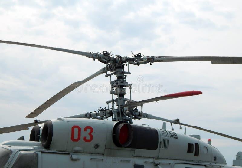 De helikopters zijn bij burgerlijk en militair royalty-vrije stock afbeelding