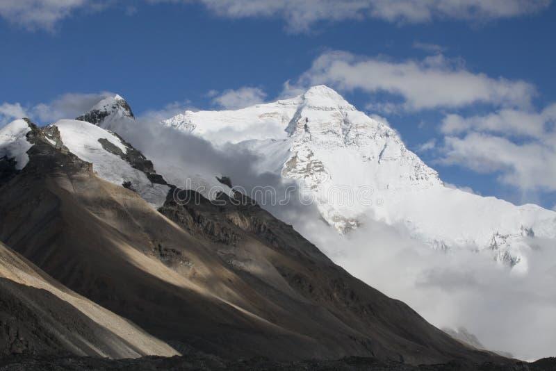 De Helling van het Noorden van Everest royalty-vrije stock afbeeldingen