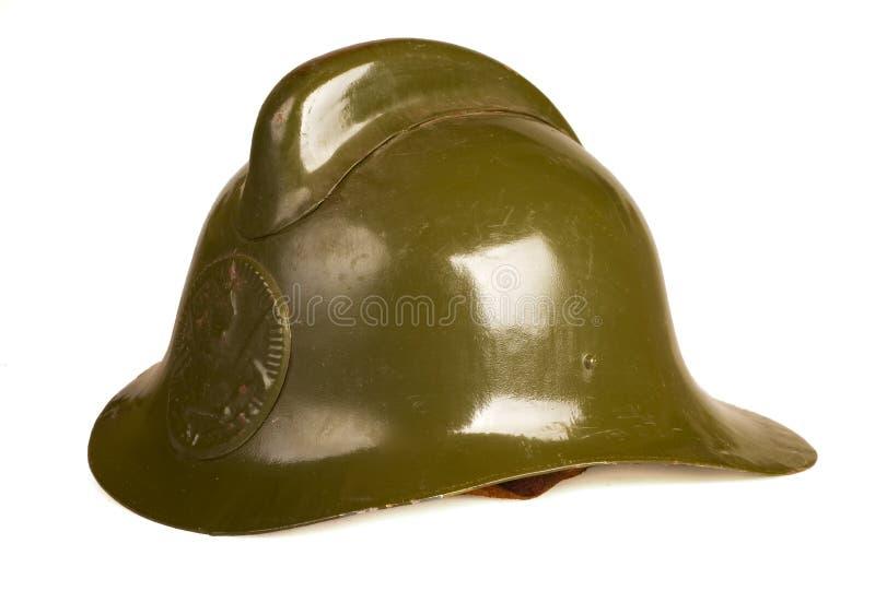 De helm van de brand royalty-vrije stock foto's