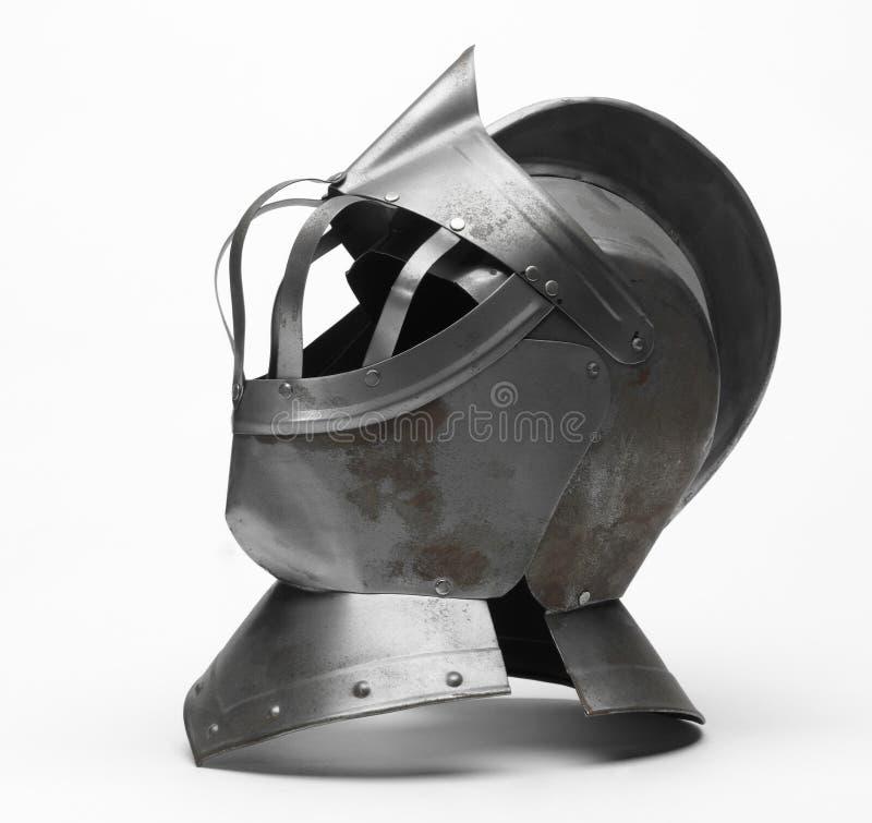 De helm van de ridder