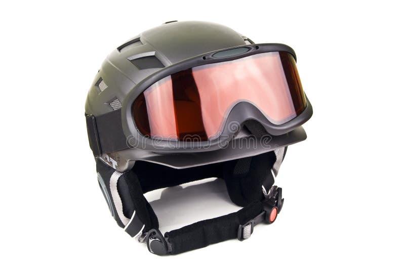 De helm van de ski royalty-vrije stock afbeeldingen
