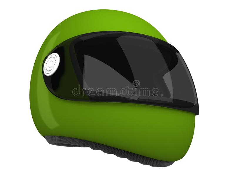 De Helm van Moto | 3D stock illustratie