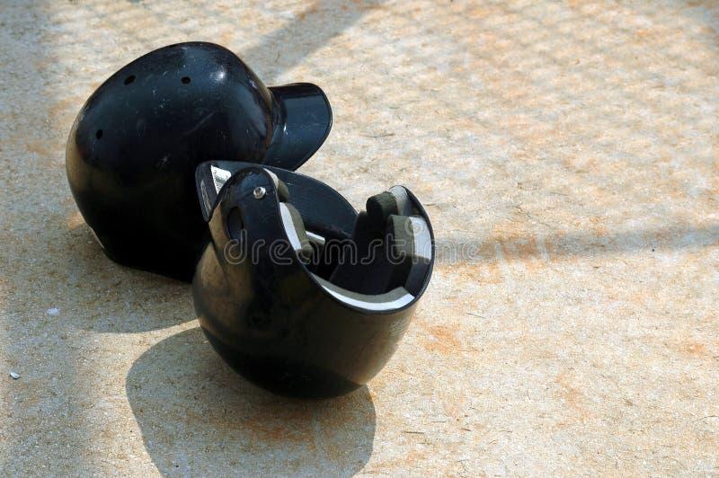 De Helmen van het honkbal royalty-vrije stock foto