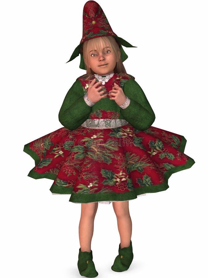 De Helper van Santas stock illustratie