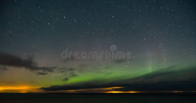 De hemel en de sterren van de nacht royalty-vrije stock foto's