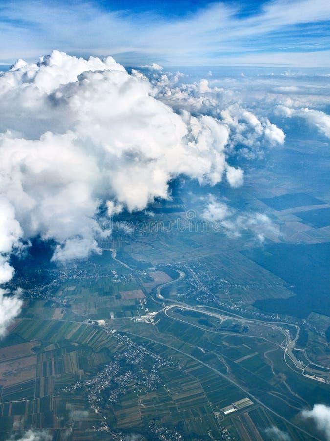 De hemel is het land royalty-vrije stock afbeeldingen