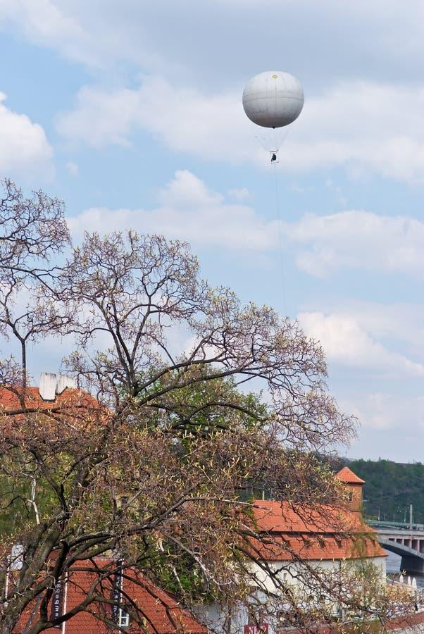 De hemel over Praag Czechia royalty-vrije stock afbeelding