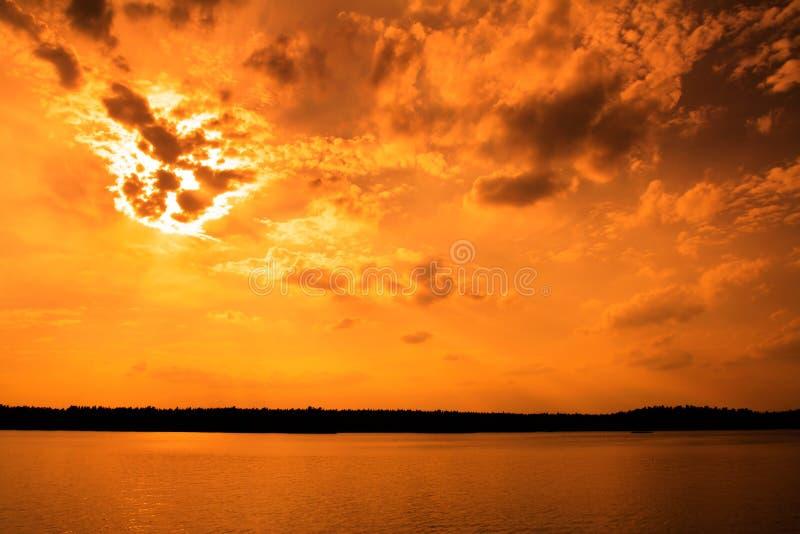De hemel van de dag des oordeels stock afbeeldingen