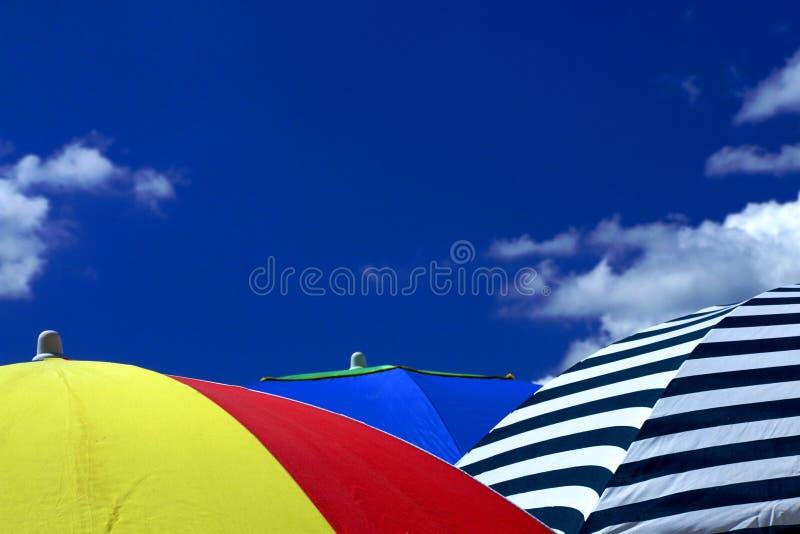 De Hemel van de zomer stock afbeelding
