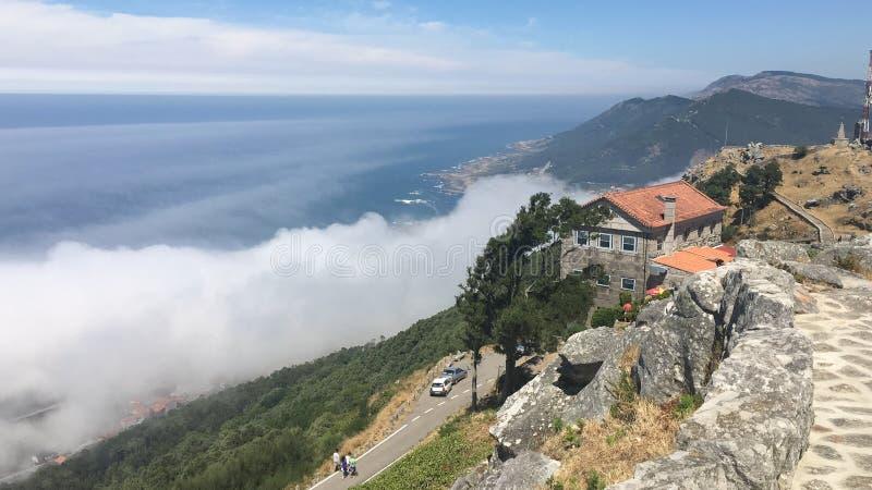 De hemel van Galicië royalty-vrije stock foto