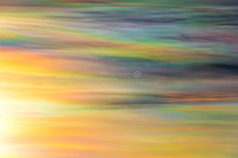 De hemel van kleurenwolken stock fotografie