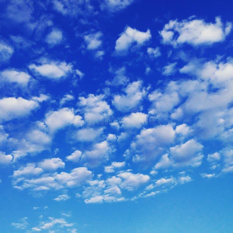 De hemel van Nice royalty-vrije stock afbeeldingen