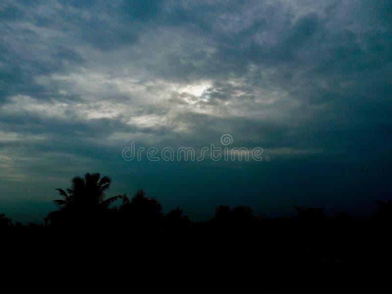 De hemel van de noodlotdag royalty-vrije stock fotografie