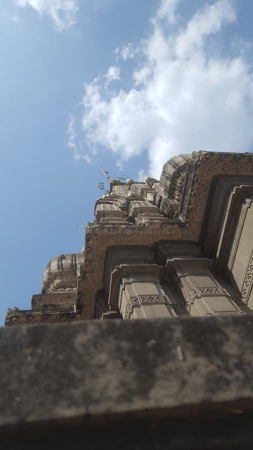 De hemel van tempelaanrakingen royalty-vrije stock foto's