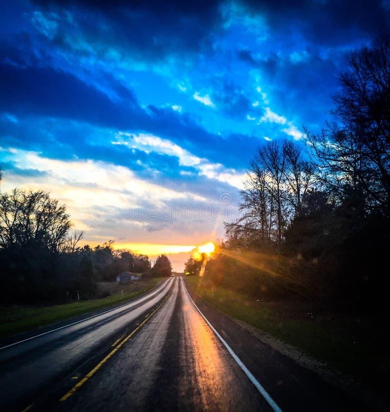 De hemel van Texas royalty-vrije stock foto