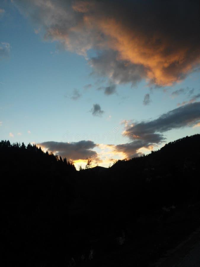 De hemel van wolken royalty-vrije stock foto's