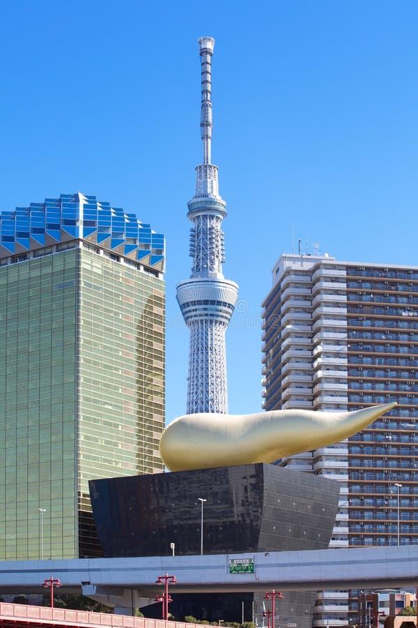 De hemelboom van Tokyo royalty-vrije stock foto's