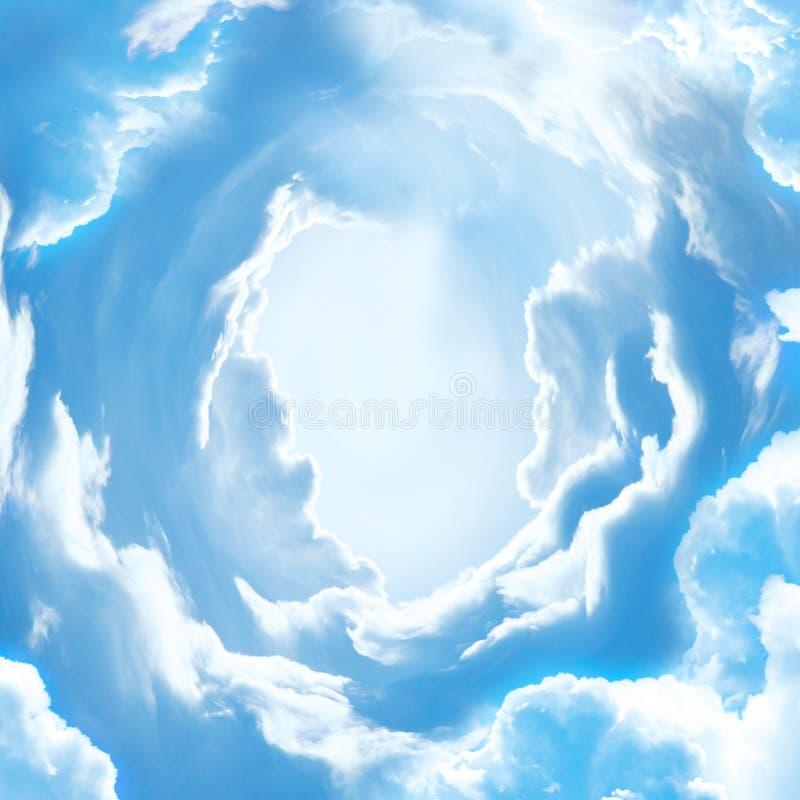 De hemeldeur aan hemel stock fotografie