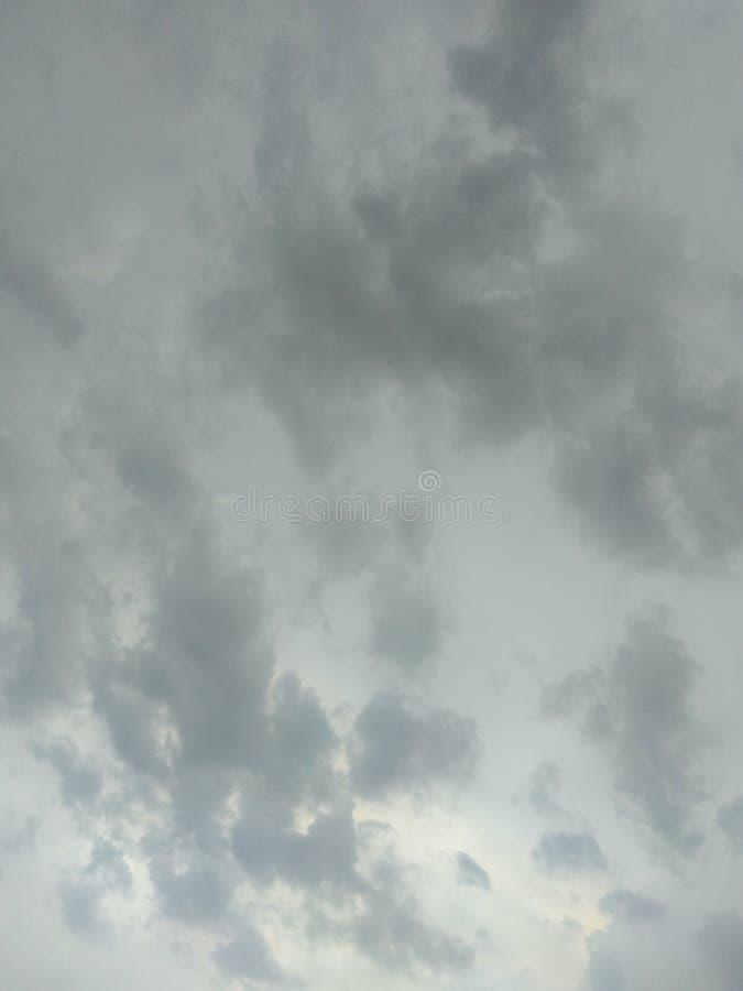 De hemelregen gaat tijdbeeld royalty-vrije stock foto