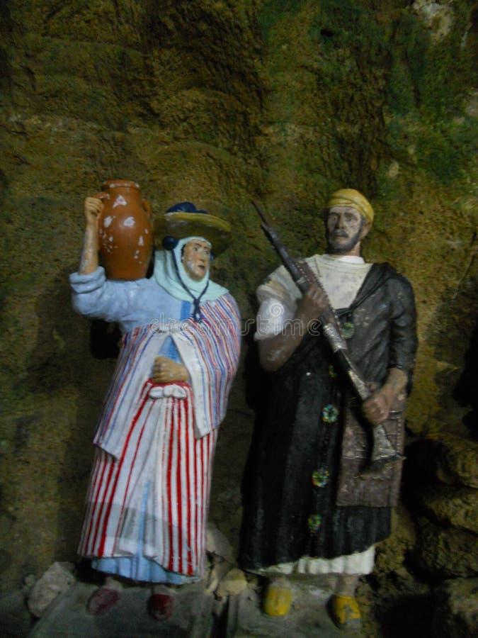 De hercules grottorna i tanger Marocko royaltyfria foton
