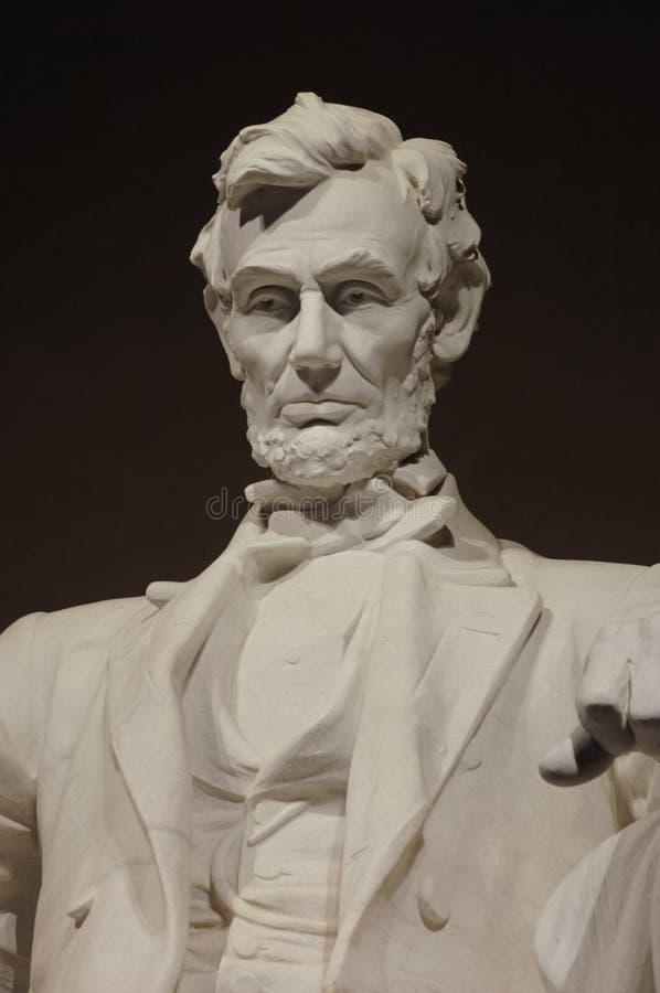 De Herdenkingsclose-up van Lincoln royalty-vrije stock afbeeldingen