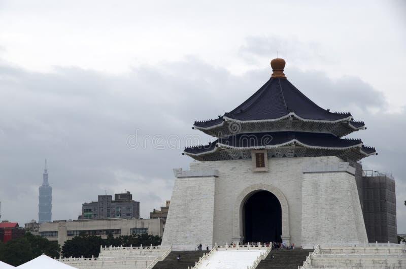 De HerdenkingsZaal van Kai -kai-shek van Chiang stock fotografie