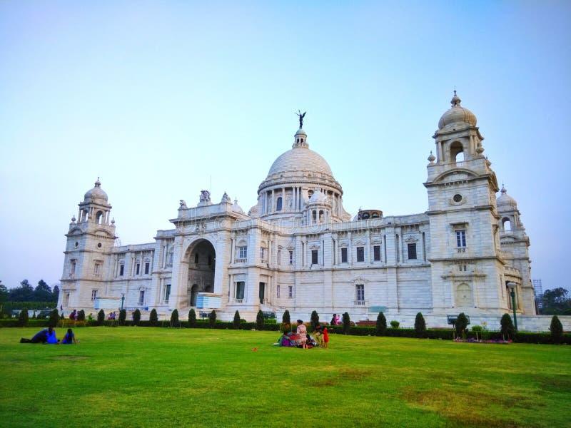 De HerdenkingsZaal van Victoria, Kolkata, India stock afbeelding