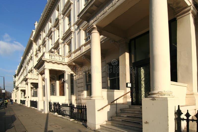 De Herenhuizen van Kensington stock afbeelding
