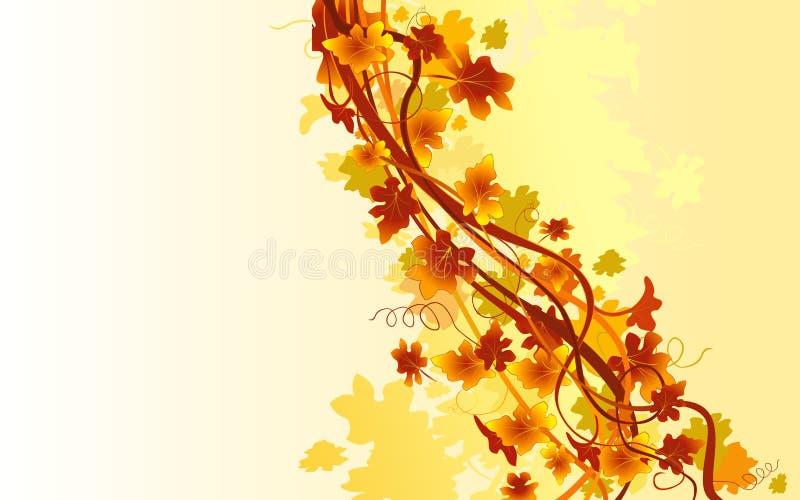 De herfst royalty-vrije illustratie