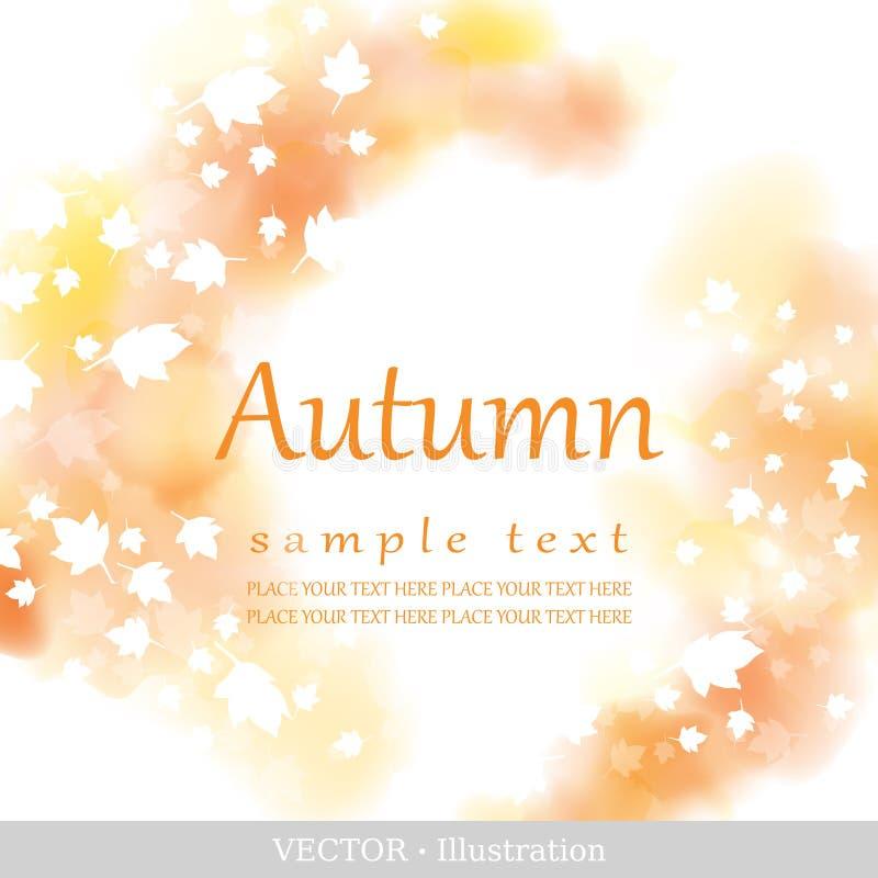 De herfst. vector illustratie