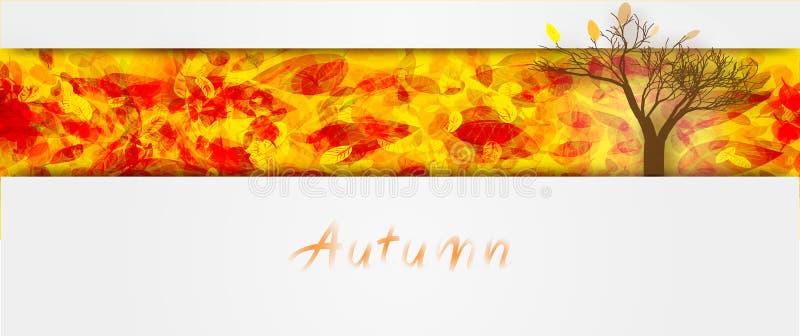 De herfst 01 stock illustratie