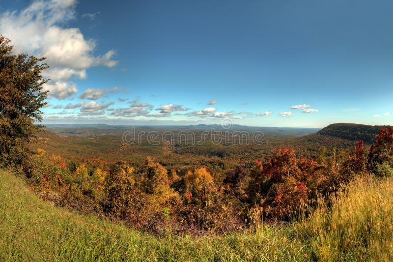 De herfst in Arkansas stock afbeeldingen
