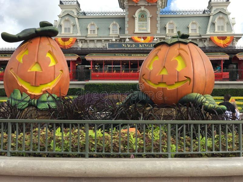 De herfst bij het Magische Koninkrijk, Walt Disney World stock afbeeldingen