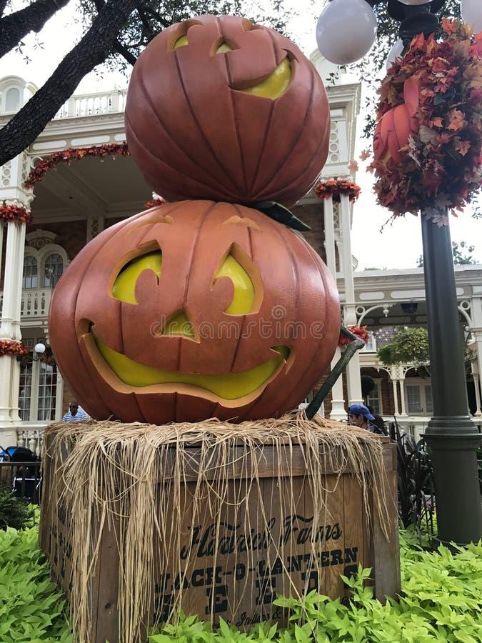 De herfst bij het Magische Koninkrijk, Walt Disney World royalty-vrije stock afbeeldingen