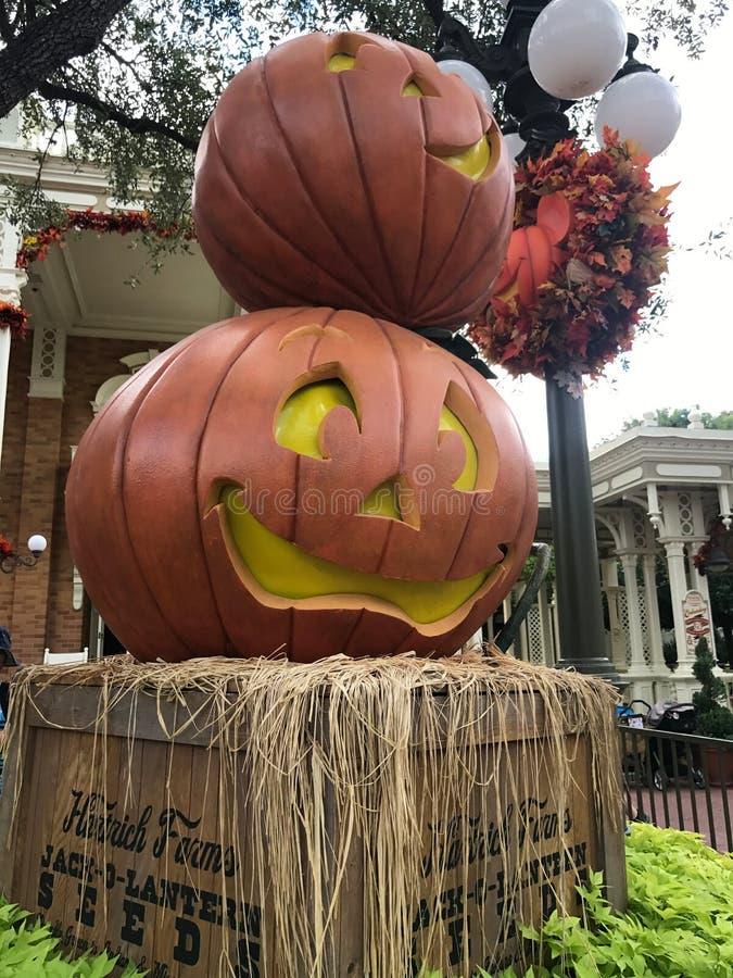De herfst bij het Magische Koninkrijk, Walt Disney World royalty-vrije stock foto's