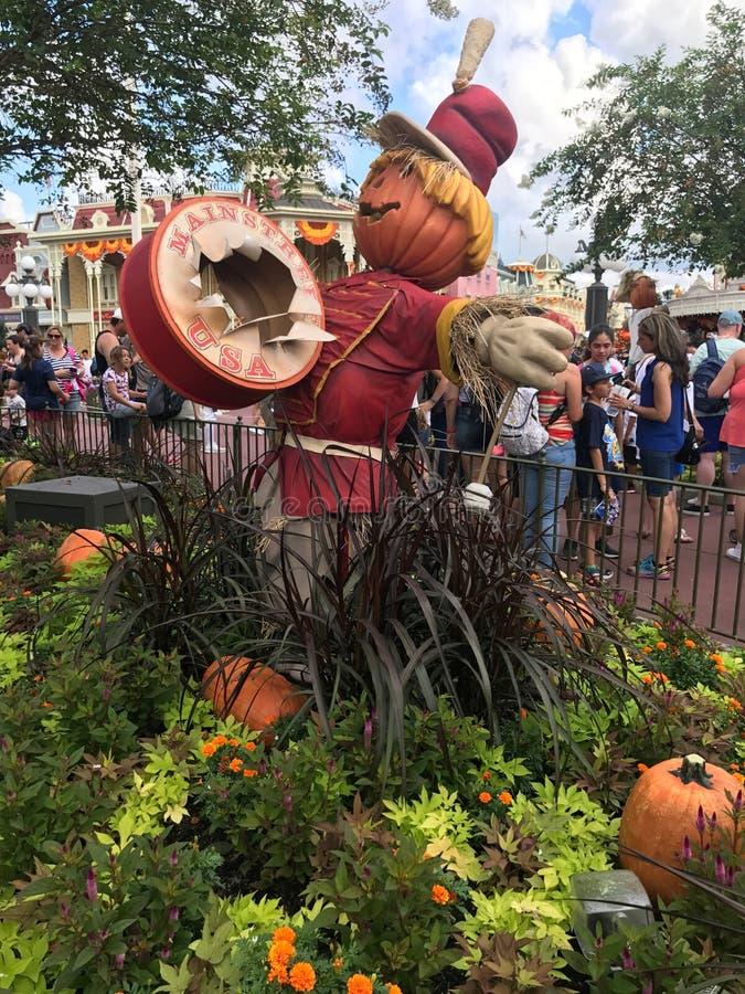 De herfst bij het Magische Koninkrijk, Walt Disney World stock fotografie
