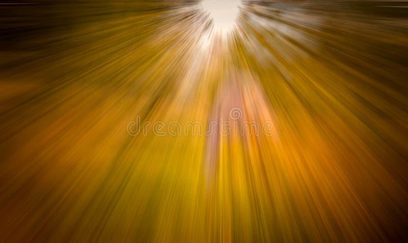 De herfst blured achtergrond stock foto