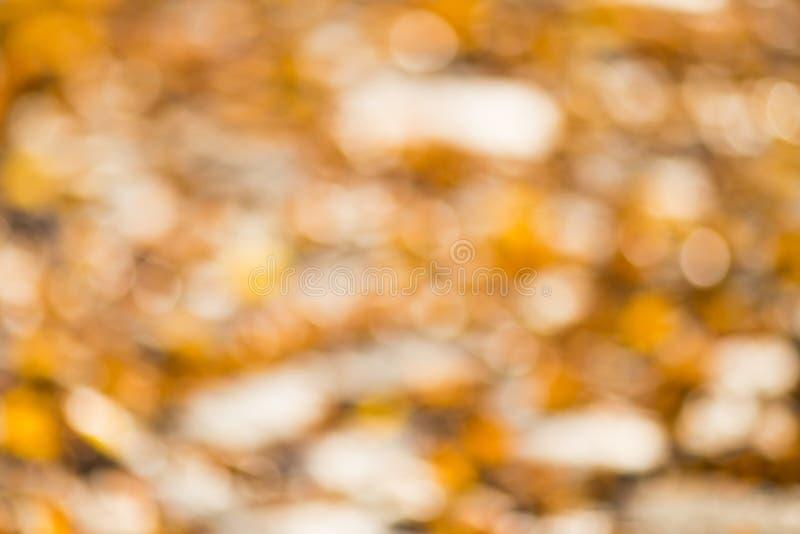 De herfst bokeh royalty-vrije stock fotografie