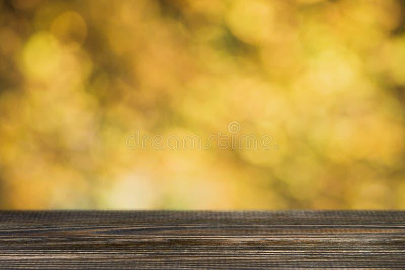 De herfst bokeh achtergrond royalty-vrije stock fotografie
