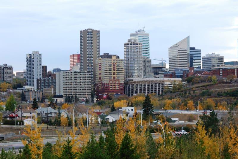 De herfst Edmonton stock afbeeldingen