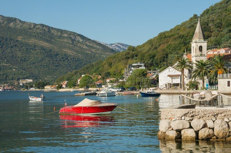 De herfst in Montenegro stock afbeeldingen