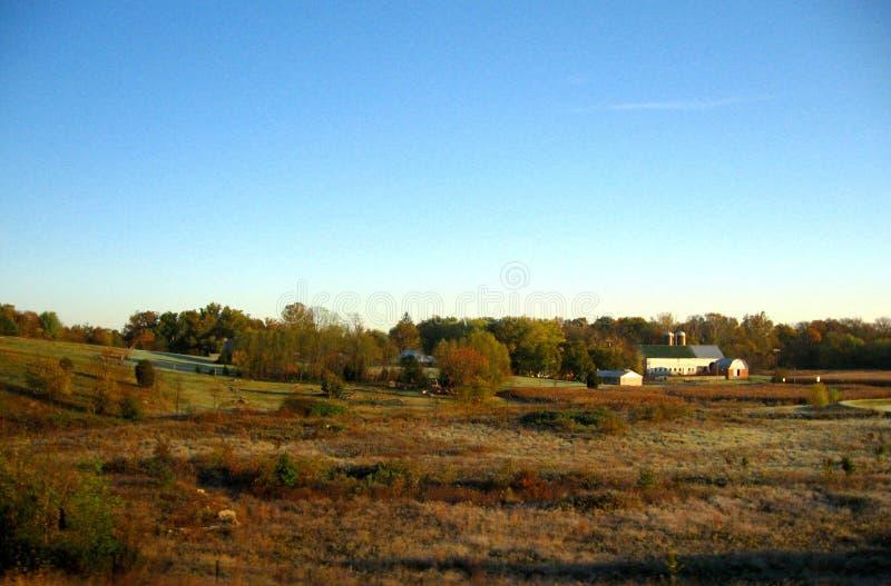 De herfst in Ohio royalty-vrije stock afbeelding