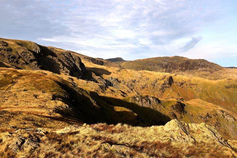 De herfst op Weinig Hart Crag royalty-vrije stock foto