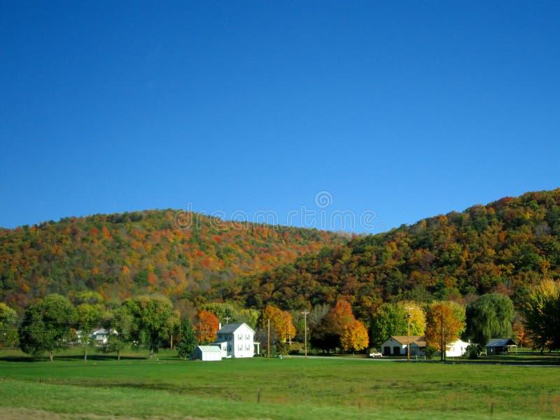 De herfst in Pennsylvania 3 stock foto