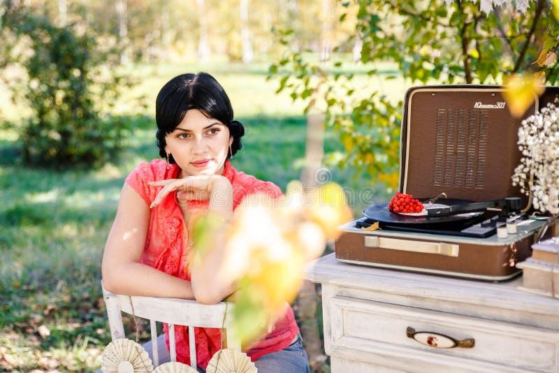 De herfst photoshoot stock afbeeldingen